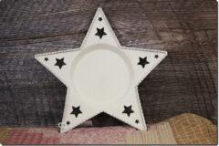 Star Shaped Tray Birch