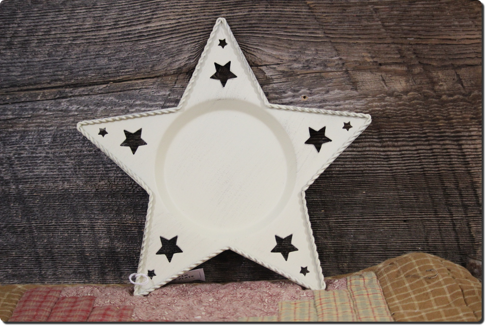 Star Shaped Tray Birch