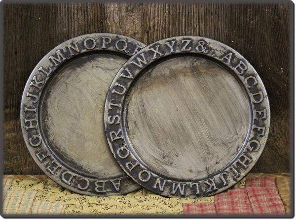 ABC Round Plate