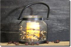 Banded Lantern and Pillar Set