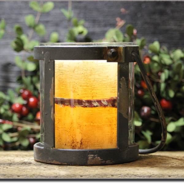 Industrial Candle Holder Set